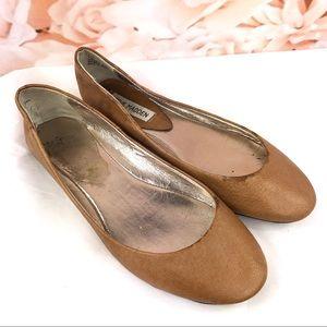 Steve Madden simple ballet flats brown size 7.5